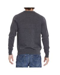 Fred Perry - Gray Sweater for Men - Lyst