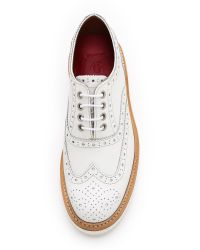Foot The Coacher - Emily Oxfords - White - Lyst