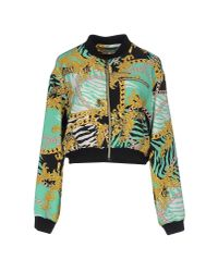 Versace Jeans | Green Jacket for Men | Lyst