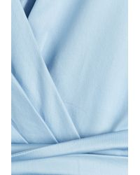Tara Jarmon - Cotton Top - Blue - Lyst