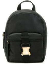 Christopher Kane - Black Safety Buckle Backpack - Lyst