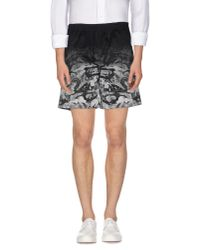 Marcelo Burlon | Black Bermuda Shorts for Men | Lyst
