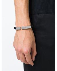 Vita Fede - Metallic Mini 'octagon' Bracelet - Lyst