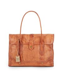 Frye - Brown Campus Leather Satchel - Lyst