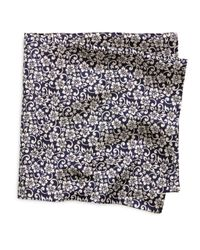 Brooks Brothers - Blue Hibiscus Pocket Square for Men - Lyst