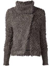 IRO - Brown Caty Veste Wool-Blend Jacket - Lyst
