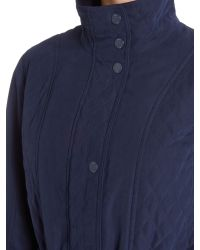 Cloud Nine | Blue Micro Quilted Jacket | Lyst