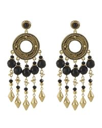 House of Harlow 1960 | Black Cuzco Chandelier Earring | Lyst