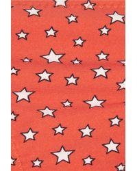 J.Crew - Red Hubble Star-Print Bikini Briefs - Lyst
