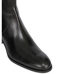 Mr. Hare - Black Zip Up Leather Chelsea Boots for Men - Lyst