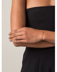 Ileana Makri - Gray Mini Cross Bracelet - Lyst