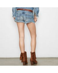 Denim & Supply Ralph Lauren - Blue Tolme Boyfriend Cutoff Short - Lyst