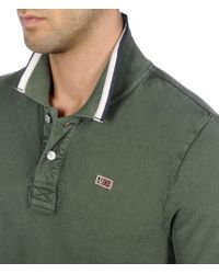 Napapijri | Green Polo Shirt for Men | Lyst