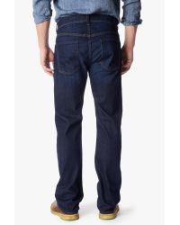 7 For All Mankind - Blue Luxe Performance: Austyn Relaxed Straight for Men - Lyst