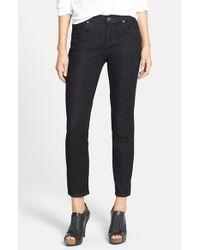 Eileen Fisher   Blue Stretch Skinny Jeans   Lyst
