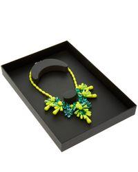 EK Thongprasert - Green Yellow Silicone Necklace - Lyst