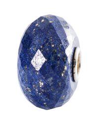 Trollbeads | Blue Sterling Silver Lapis Lazuli Bead | Lyst