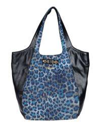 Just Cavalli - Blue Shoulder Bag - Lyst