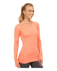 Under Armour | Orange Ua Coldgear® Cozy Crew | Lyst