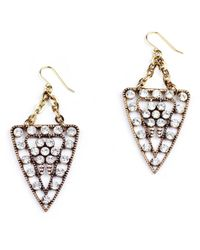 Lulu Frost - Brown Galaxy Earrings - Lyst