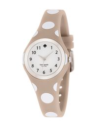 Kate Spade | Natural Polka Dot Rumsey Watch | Lyst