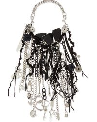 Marc By Marc Jacobs | Metallic Multi-pendant and Metal Chain Necklace | Lyst