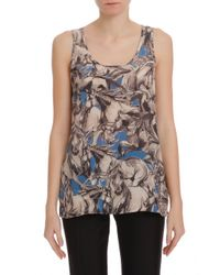 Paul & Joe - Blue Sleeping Horse Sl Tank - Lyst
