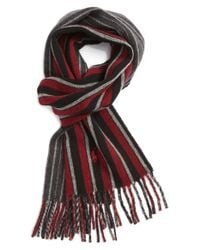 Polo Ralph Lauren | Black Double Face Reversible Scarf for Men | Lyst