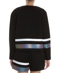 T By Alexander Wang | Black Neoprene Sweatshirt | Lyst