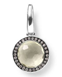 Ippolita | Metallic Sterling Silver Lollipop Charm | Lyst