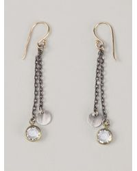 Dosa - Metallic Drop Earrings - Lyst