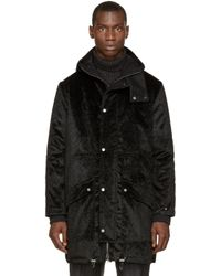 Wanda Nylon - Black Faux_fur Afif Parka for Men - Lyst