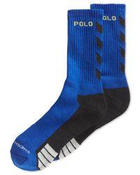 Polo Ralph Lauren | Blue Men's Polo Sport Crew Socks for Men | Lyst