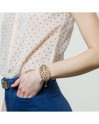 Lulu Frost - Metallic Goldtone Drift Bracelet - Lyst