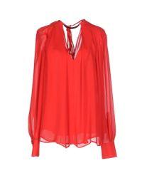 Plein Sud - Red Shirt - Lyst