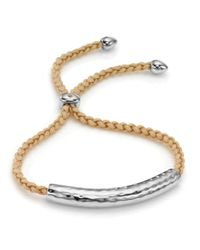 Monica Vinader | Metallic Esencia Friendship Bracelet | Lyst