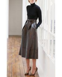 Martin Grant - Black Wool Classic Turtleneck Sweater - Lyst