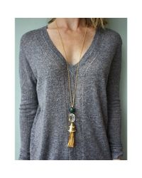 Lele Sadoughi | Metallic Fishtail Pendant Necklace | Lyst