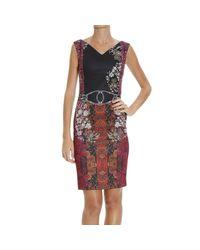Class Roberto Cavalli | Purple Dress | Lyst