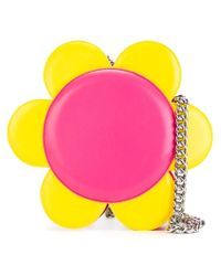 Jeremy Scott - Yellow Flower Shoulder Bag - Lyst