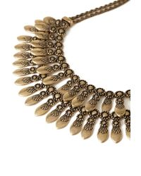 Forever 21 | Metallic Layered Petal Necklace | Lyst