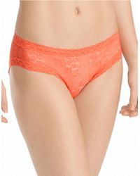 Natori | Orange Bliss Lace Brief | Lyst