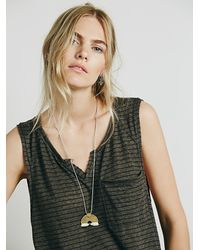 Free People | Gray We The Free Womens We The Free Weekend Warrior Tee | Lyst