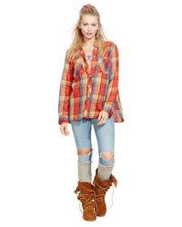 Denim & Supply Ralph Lauren - Multicolor Plaid Utility Shirt - Lyst