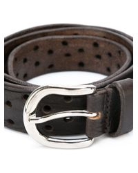 Isabel Marant | Brown Perforated Belt | Lyst