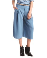 BOSS Orange - Blue A-line Divided Skirt 'sajudi' - Lyst