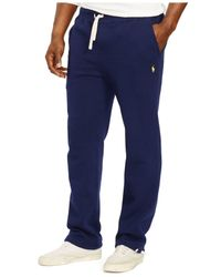 Polo Ralph Lauren | Blue Big And Tall Classic Fleece Drawstring Pant for Men | Lyst