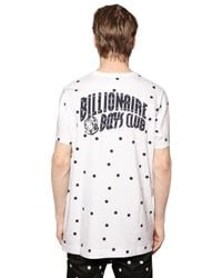 Billionaire Boys Club - Ice Cream | White Polka Dot Printed Cotton T-shirt for Men | Lyst