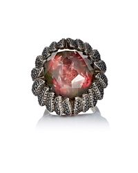 Sevan Biçakci - Red Tulip Intaglio Ring - Lyst