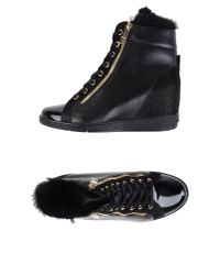 Dirk Bikkembergs | Black High-tops & Trainers | Lyst